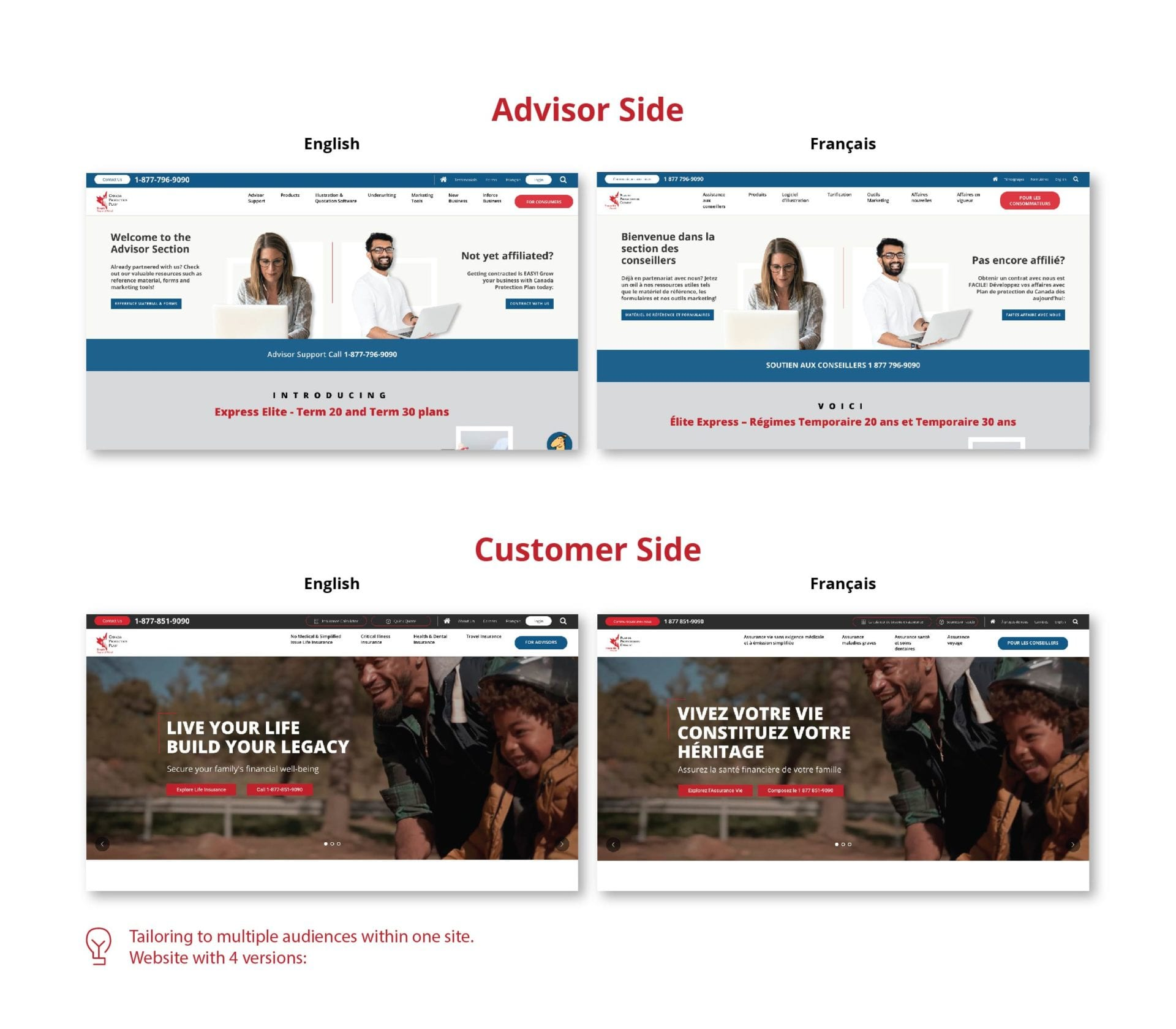 cpp case study advisors side english and french screenshot