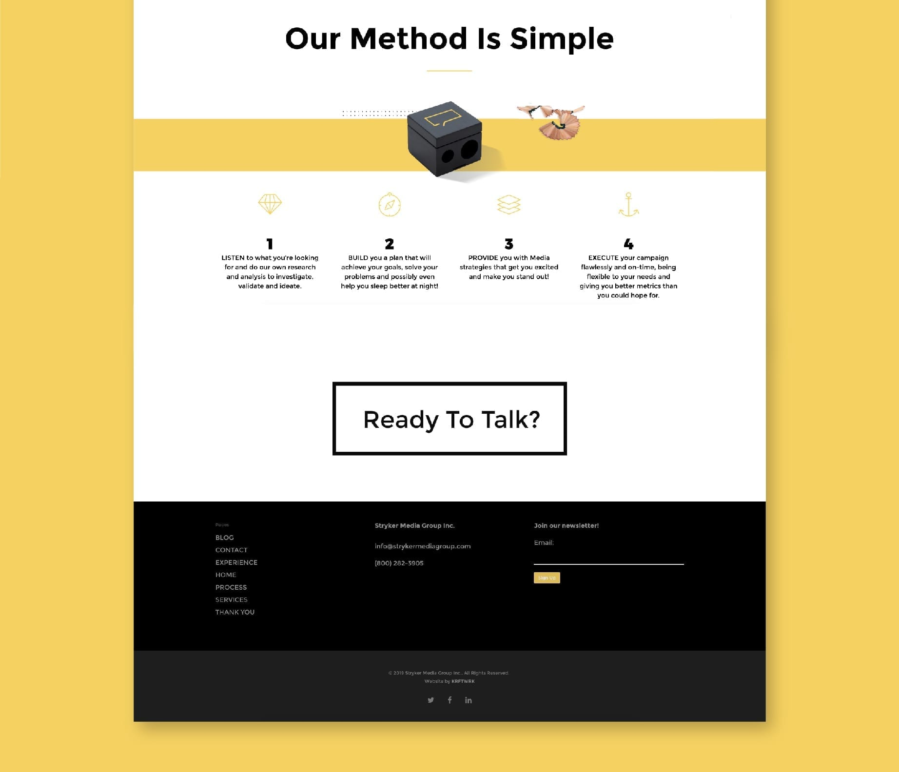 Stryker Page Footer