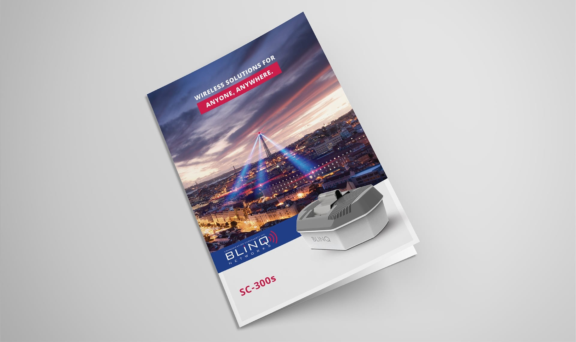 blinq networks product marketing brochure