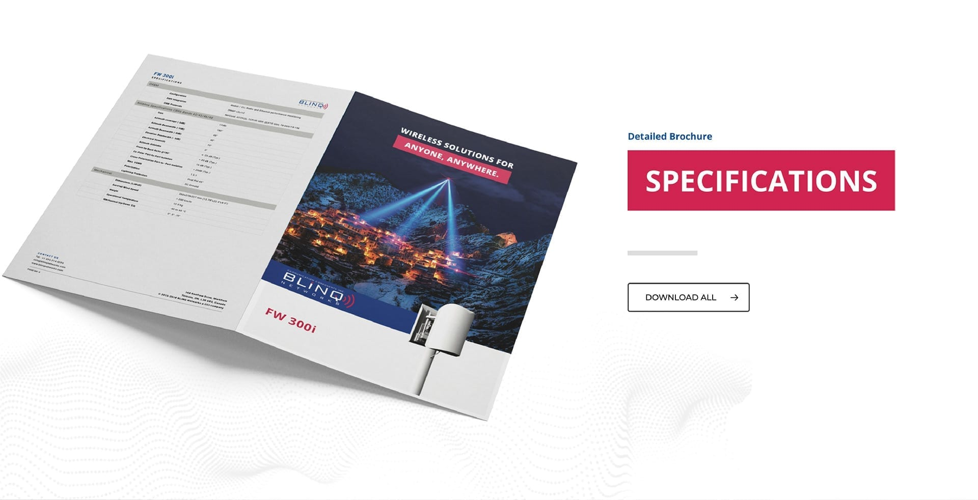 product specification brochures downloads page_brand design