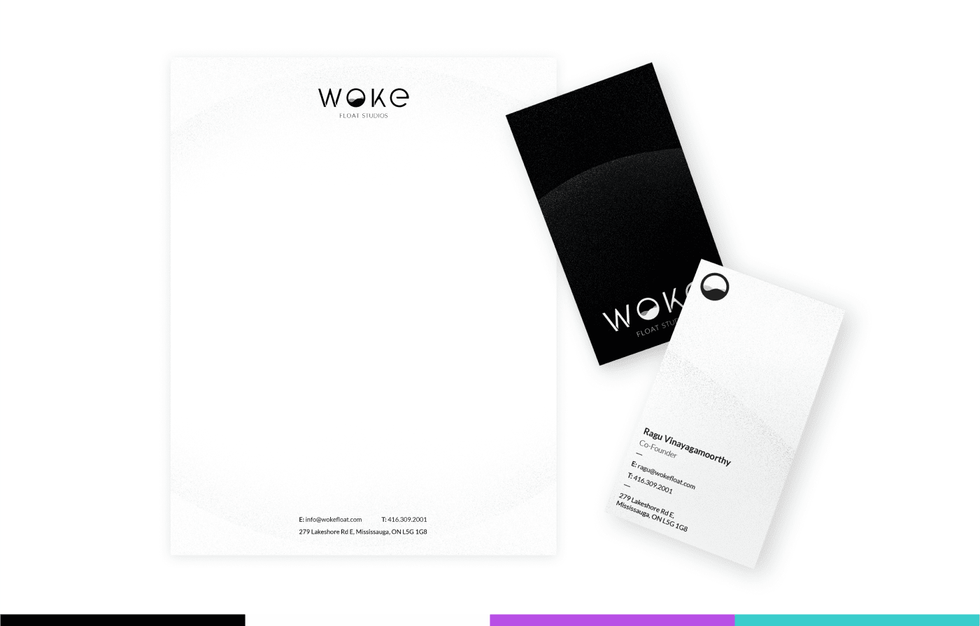 Woke Brand Design Cards