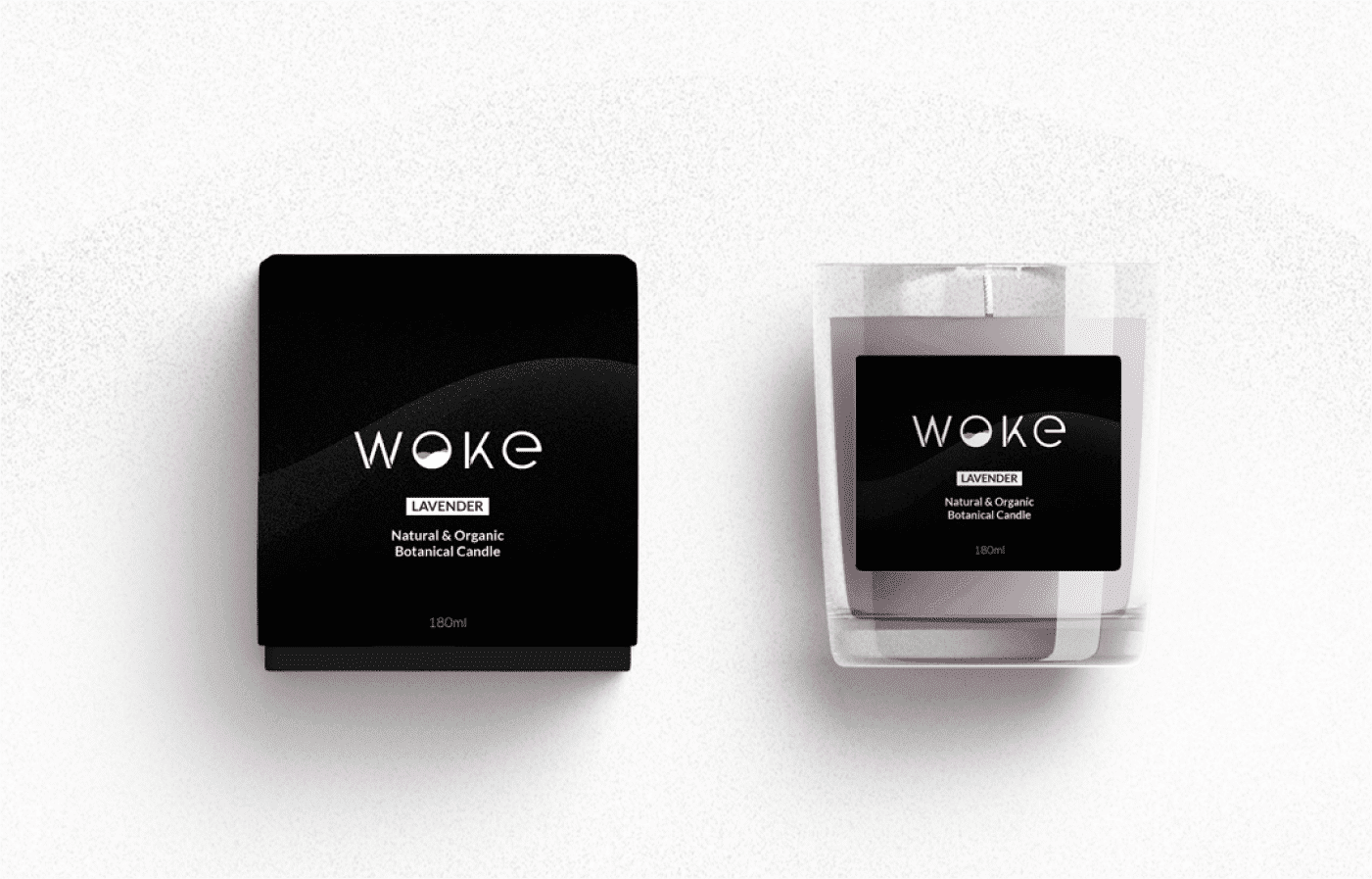 Woke Candle Logo Design