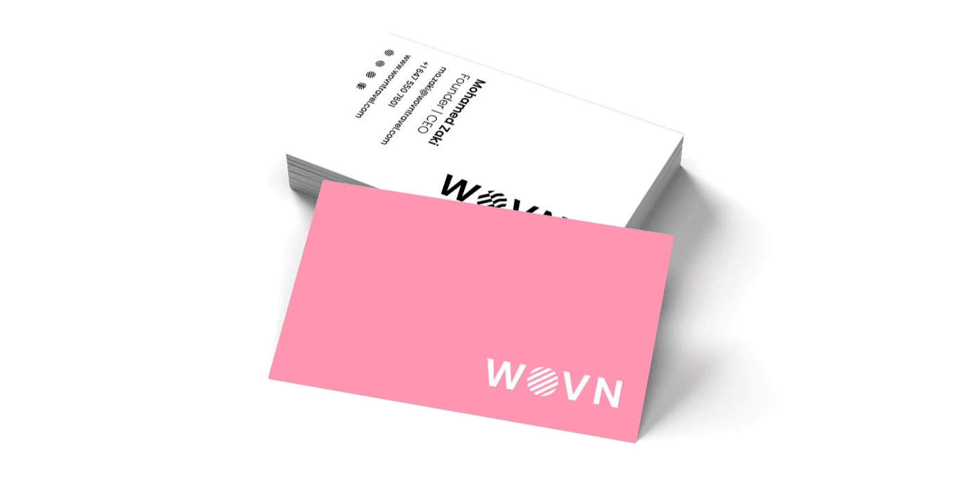 WOVN Business Cards